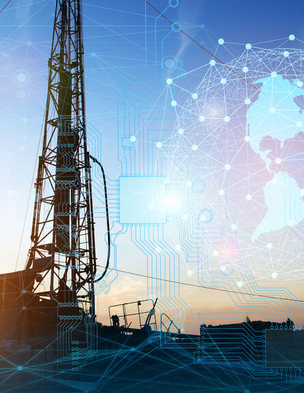 well drilling and geophysical surveys for the search and production of oil and gas. The use of modern artificial intelligence technologies for production