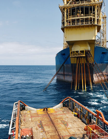 Floating production storage and offloading FPSO vessel, oil and gas indutry